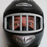 Un motard derrière les barreaux